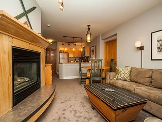 2-Bedroom Condo, Short Walk to Gondola, Courtyard and Partial Mountain Views