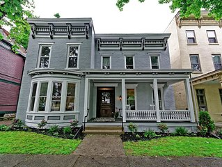 New! Location, Location, Location! Downtown Saratoga Springs 4Br Executive Home