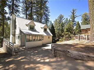 Foxtail Delight: 3 BR / 2 BA  in Shaver Lake, Sleeps 8