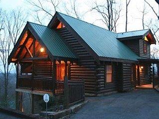 Tranquility Point, Gatlinburg, 2BR/2BA,Mountain Views, Pets, Wifi, Great Reviews