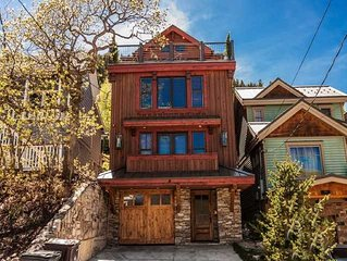 Ski In/Out High-End Mountain Home in Old Town, Park City, Utah