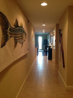 Our big Fish in the hallway.