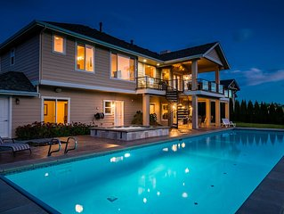Summit Pool House with Private Heated Pool, 10 Person Hot Tub & Game Room