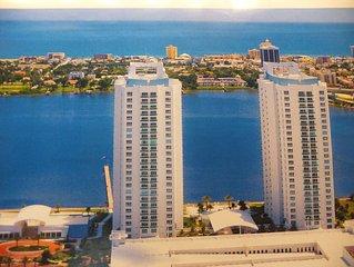 Luxury Waterfront Condo - 15th Floor, 2 Bed/ 2 Bath -Spectacular Ocean View
