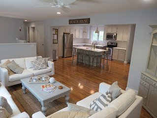 Open Concept and Large Back Yard - Heart of Nickerson State Park!