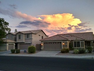 Located in the West Valley, close to many sports locations