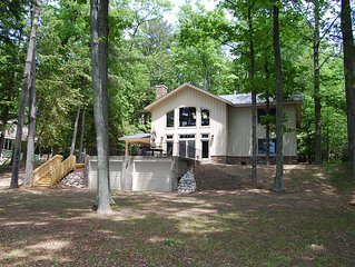 Sleeping Fox - a Beautiful, Newly Remodeled Home on Little Glen Lake!