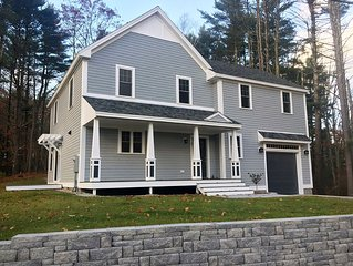 Brand new luxury home steps from Kennebunkport's Dock Square and the beaches.