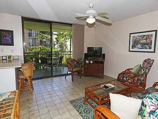 Beautiful condo! Steps to the ocean! Free WIFI! Kona Makai 5102