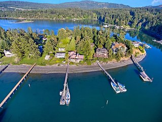 NEWLY LISTED! DEEPWATER DOCK! On beautiful Mitchell Bay!