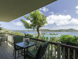 Hilltop views, wrap around balcony. Lower $ available for longer stays. E15