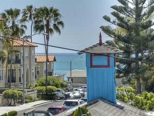 Walk And live in The Charming Village And a block to the Beach too!