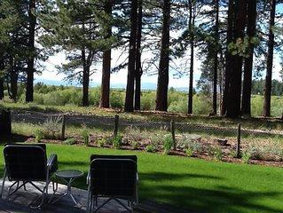 South Lake Tahoe Cabin with Lake and Meadow Views - Casinos & Heavenly Nearby