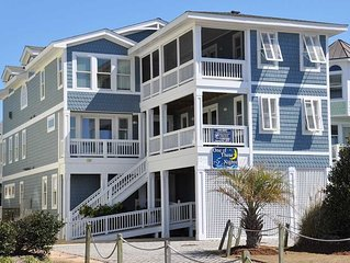 One Of These Nights: 12 BR / 12 BA house in Nags Head, Sleeps 24