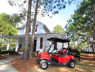 """Golfing Around"" in Laurel Grove w/Golf Cart! Free Raven Golf!"