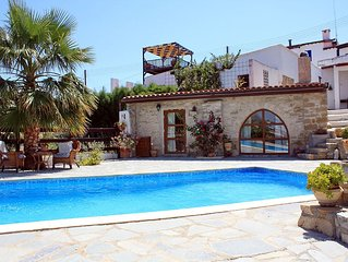 Traditional Stone Village House With Private Pool And Stunning Sea Views