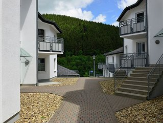 Modern holiday home on the first floor with balcony in the heart of Willingen