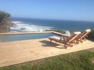 Noetzie Bay House , a stunning eco friendly experience