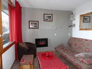 47 sq.m duplex feet away from the ski runs, completely renovated, for 6-8 guests