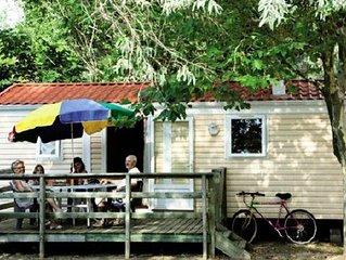 Camping l'Eden**** - Mobil Home 3 Pieces 4 Adultes + 1 Enfant