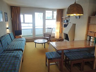Beautiful 2 rooms cabin ski in/out