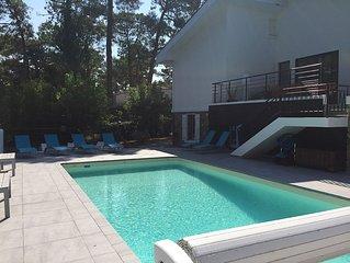 Villa avec piscine proche mer, ideale familles