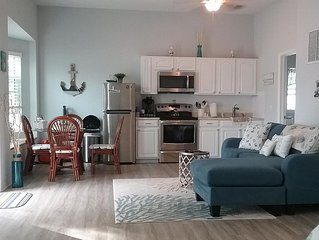 1ST STREET RETREAT A NEWLY UPDATED DOG FRIENDLY APARTMENT WITH FENCED IN YARD!!
