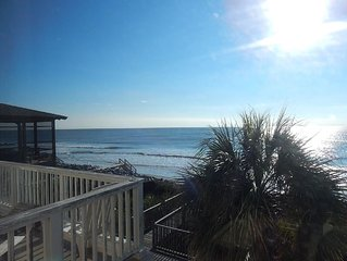 North Bend by the Sea - Amazing Oceanfront Location, Clean, Comfortable, and Go