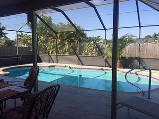 Beautiful Private Screened Pool/Patio Home, Newly Renovated