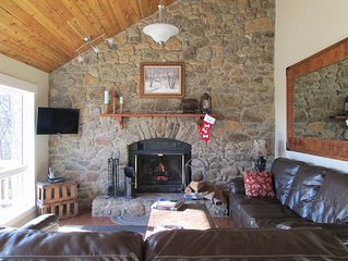 Explore Nelson County while staying in this luxury home at Wintergreen.