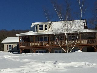Ski Chalet - Sleeps 8+ on 5 Hillside Acres-Walk to Village-Spring Special Rates