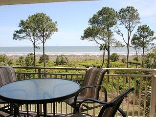 2 Bedroom Oceanfront 3rd Floor Villa with Private Oceanfront Balcony!