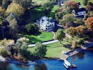 Glenwood Lodge - Colonial Style Cayuga Lake Estate Home