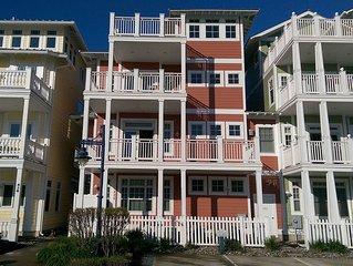 Luxury 4 Story Beach House Rental: Coastal Colors Beach Block Wildwood Crest NJ