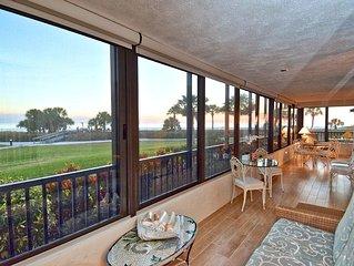Gulf & Bay Club - Siesta Key, 3 Bedroom, Beachfront Condo, 1st Floor, with Patio