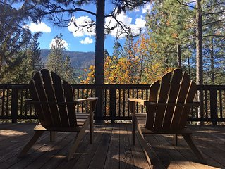Starview Lodge: Quiet Mountain Home Bordering State Forest