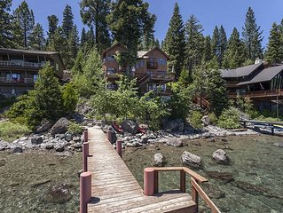 Gorgeous Lake Front High End Home with Private Beach and Pier!