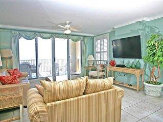 Oceania 405, 3 Bedrooms, Sleeps 8, Beach Front, Pool, Near Mayo Clinic