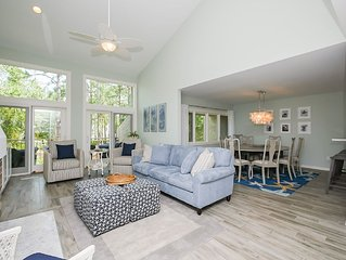 1464 Sound Villa - Fully Renovated - Gorgeous views of the Calibogue Sound!