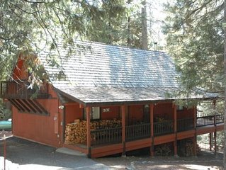 EDELWEISS CHALET: 3BR/2BA IN BIG TREES VILLAGE W/REC AMENITIES, CLOSE TO BEAR VA