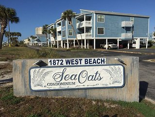 ***Beach Lovers Only***!Newly Renovated!***Sea Oats-G105***3BR/2BA***Free WiFi**