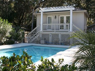 Cozy Beach Home with Cottage & Pool 4 Houses to Beach!