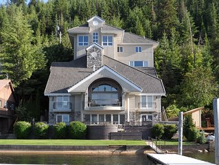 Seeweewana Chateau : Lake Coeur d 'Alene Lakefront Luxury, Private Guest House
