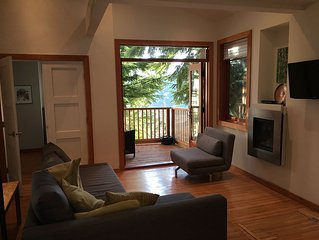 Deep Cove Creekside, Ocean View Retreat