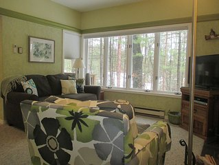Nicely Appointed Homestead condo tucked in Wooded Setting
