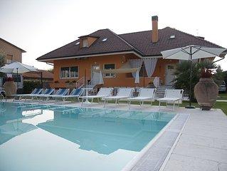 Villa di prestigio con piscina privata,Valpolicella,vicino Lago di Garda
