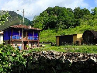 Super Romántico apartamento con Jacuzzi en los Picos de Europa.