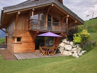 Chalet cozy 4 personnes ski in/out