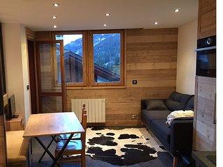 APPARTEMENT RENOVE 2016 , 2 Chambres, 4p, Hameau de Planchamp,Valmorel