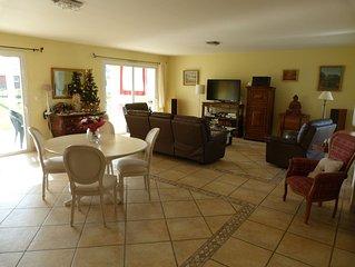 Spacious house 180m2 habitable, comfortable spa 6 people